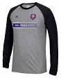 "Orlando City SC Adidas MLS ""Midfield"" Men's Climalite L/S T-Shirt"