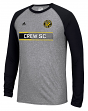 "Columbus Crew Adidas MLS ""Midfield"" Men's Climalite L/S T-Shirt"
