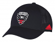 "D.C. United Adidas MLS ""Corner Kick"" Structured Flex Mesh Back Hat"