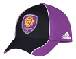 "Orlando City SC Adidas MLS ""Free Kick"" Structured Flex Performance Hat"