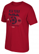 New York Red Bulls Adidas MLS Soccer World Tri-Blend Men's Short Sleeve T-Shirt