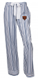 "Chicago Bears NFL Women's ""Principle"" Dual Blend Striped Sleep Pants"