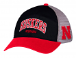 Nebraska Cornhuskers Adidas NCAA Adjustable Slouch Mesh Back Hat