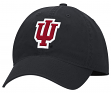 "Indiana Hoosiers Adidas NCAA ""Basic Logo"" Adjustable Slouch Hat - Black"