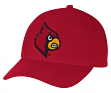 "Louisville Cardinals Adidas NCAA ""Basics"" Structured Adjustable Hat - Red"