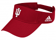 Indiana Hoosiers Adidas NCAA Basic Logo Adjustable Visor - Red