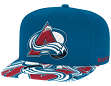 Colorado Avalanche Reebok NHL Layered Logo Embroidered Snap Back Hat