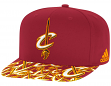 Cleveland Cavaliers Adidas NBA Layered Logo Embroidered Snap Back Hat