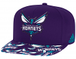 Charlotte Hornets Adidas NBA Layered Logo Embroidered Snap Back Hat