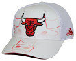 Chicago Bulls Adidas NBA Tonal Team Logo Structured Adjustable Hat