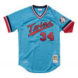 Kirby Puckett Minnesota Twins Mitchell & Ness Authentic MLB 1984 Pullover Jersey