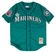 Ken Griffey Jr. Seattle Mariners Mitchell & Ness Authentic 1995 Button Up Jersey