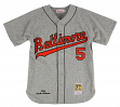 Brooks Robinson Baltimore Orioles Mitchell & Ness Authentic MLB 1966 Road Jersey