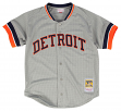 Kirk Gibson Detroit Tigers Mitchell & Ness Authentic Button Up 1987 BP Jersey