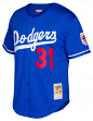 Mike Piazza Los Angeles Dodgers Mitchell & Ness MLB Authentic 1997 BP Jersey