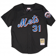 Mike Piazza New York Mets Mitchell & Ness MLB Authentic Button Up 2000 BP Jersey
