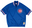 Chicago Cubs Mitchell & Ness MLB Authentic 1/4 Zip 1991 Warm-Up Jacket