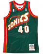 Shawn Kemp Seattle Supersonics Mitchell & Ness Authentic 1995 Road NBA Jersey