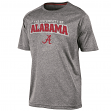 "Alabama Crimson Tide NCAA Champion ""Impact"" Men's Performance S/S Shirt - Gray"