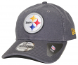 Pittsburgh Steelers New Era NFL 9Twenty Core Classic Graphite Adjustable Hat