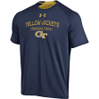 "Georgia Tech Yellowjackets Under Armour NCAA ""Charged Up"" Tri-Blend S/S Shirt"