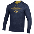 "Georgia Tech Yellowjackets Under Armour NCAA ""Charge On"" Tri-Blend L/S Shirt"