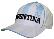 "Team Argentina World Cup Soccer Federation ""Printed"" Structured Adjustable Hat"