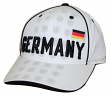 """Team Germany World Cup Soccer Federation """"Printed"""" Structured Adjustable Hat"""