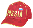 "Team Russia World Cup Soccer Federation ""Printed"" Structured Adjustable Hat"