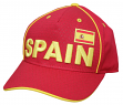 "Team Spain World Cup Soccer Federation ""Printed"" Structured Adjustable Hat"