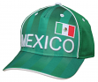"Team Mexico World Cup Soccer Federation ""Printed"" Structured Adjustable Hat"
