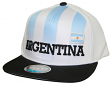 "Team Argentina World Cup Soccer Federation ""Jersey"" Flat Bill Snap Back Hat"