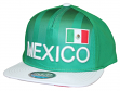 """Team Mexico World Cup Soccer Federation """"Jersey"""" Flat Bill Snap Back Hat"""
