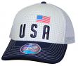 "Team USA World Cup Soccer Federation ""Jersey Hook"" Structured Mesh Back Hat"