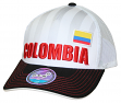 "Team Colombia World Cup Soccer Federation ""Jersey Hook"" Structured Mesh Back Hat"