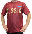 "Team Russia World Cup Soccer Federation Premium ""Jersey"" T-Shirt"