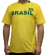 "Team Brazil World Cup Soccer Federation Premium ""Jersey"" T-Shirt"