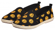 "Pittsburgh Steelers Women's NFL ""Espadrille"" Slip On Canvas Shoe Slippers"