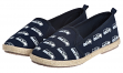 "Seattle Seahawks Women's NFL ""Espadrille"" Slip On Canvas Shoe Slippers"