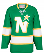 Minnesota North Stars CCM Reebok NHL Men's Vintage Green Premier Jersey