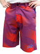 "Buffalo Bills NFL ""Diagonal Striped"" Men's Casual Polyester Walking Shorts"