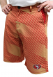 "San Francisco 49ers NFL ""Diagonal Striped"" Men's Casual Polyester Walking Shorts"