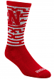 "Nebraska Cornhuskers Adidas NCAA ""Bold Team"" Jacquard Men's Crew Length Socks"