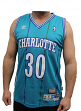 Dell Curry Charlotte Hornets Adidas NBA Throwback Swingman Jersey - Teal