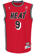 Dan Majerle Miami Heat Adidas NBA Throwback Swingman Jersey - Red