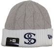 "Chicago White Sox New Era Heritage MLB ""Vintage Cozy"" Cuffed Knit Hat"