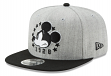 """Mickey Mouse Disney New Era 9FIFTY """"Heather Action"""" Snap Back Hat"""