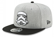 """Stormtrooper Star Wars New Era 9FIFTY """"Heather Action"""" Snap Back Hat"""
