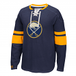 "Buffalo Sabres CCM NHL ""Drop the Puck"" Men's Jersey Crew Sweatshirt"