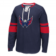 "Washington Capitals CCM NHL ""Drop the Puck"" Men's Jersey Crew Sweatshirt"